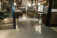 Our associate, Beyond Concrete, installed Bomanite Modena SL decorative concrete at the Angeline by Michael Symon restaurant and their expertise in the field resulted in this stunning, high-end flooring and earned them the 2018 Best Bomanite Custom Polishing Project Honorable Mention Award for their excellent work.