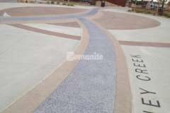 Our associate Premier Concrete Services had the privilege of showcasing their decorative concrete craftsmanship at Centennial Center Park with their expert installation of Bomanite Imprint Systems, Bomanite Sandscape Texture, and Bomanite Revealed, creating stunning and durable decorative concrete hardscape surfaces throughout the park.