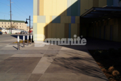 Our colleague Bomanite of Tulsa, Inc. earned the 2019 Honorable Mention Award for Best Bomanite Exposed Aggregate Project Over 6,000 SF for their craftsmanship and skillful installation of Bomanite Sandscape Texture to create the decorative concrete walkways and front entrance to the Tulsa County Family Center for Juvenile Justice.