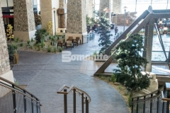 Our colleague, Colorado Hardscapes, utilized Bomanite Imprint Systems at the Gaylord Rockies Resort & Convention Center and earned the Bomanite Imprint Systems 2018 Silver Award for their meticulous installation, including the Bomacron Small Random Slate imprint pattern featured here, that was carefully placed, impression by impression, to assure a deliberate, repetitive, and natural looking result.