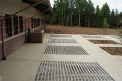 Bomanite Partially Concealed Grasscrete Concrete